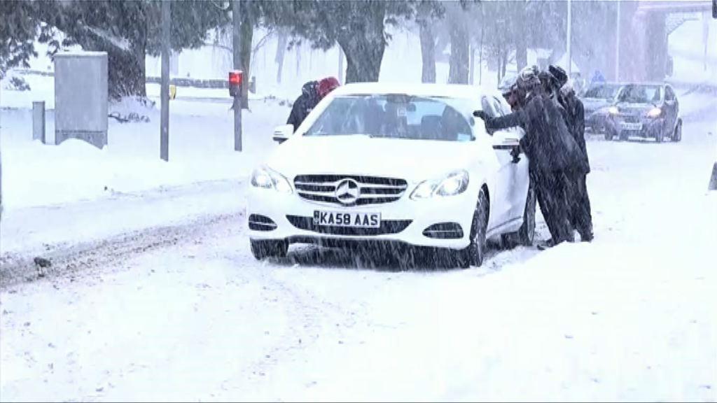 寒流續吹襲歐洲 逾五十人死亡