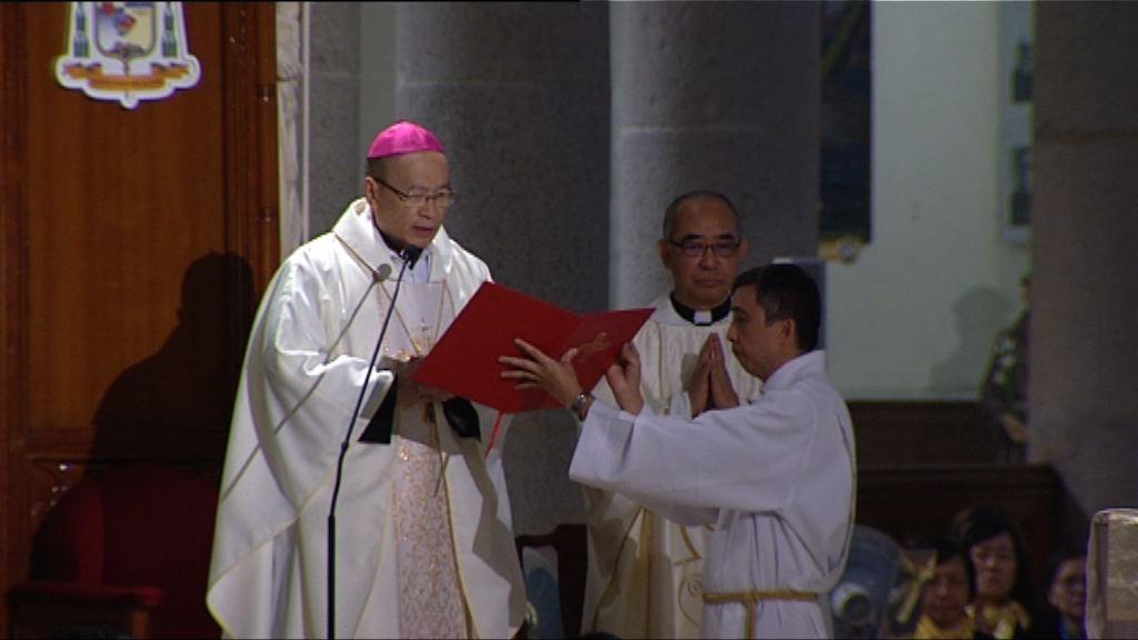 天主教香港教區舉行子夜彌撒