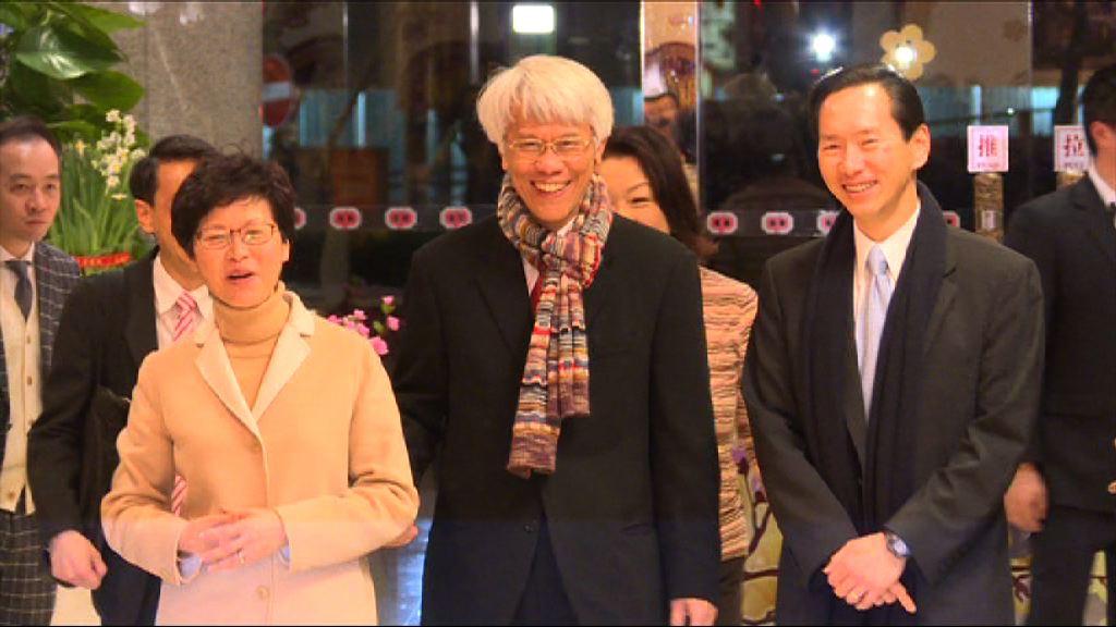 任志剛表示高興再次服務香港
