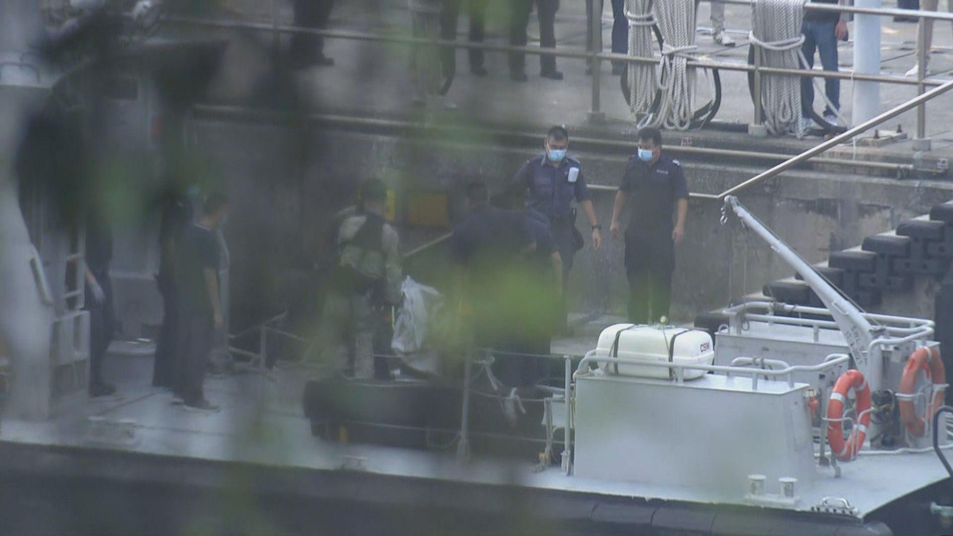 警方在二澳海面發現懷疑墮海失蹤女警屍體