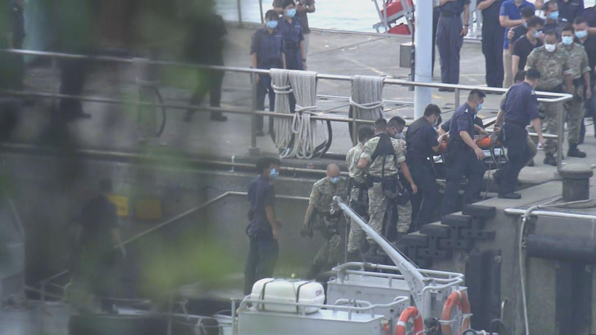 警方二澳海面發現墮海失蹤女警屍體