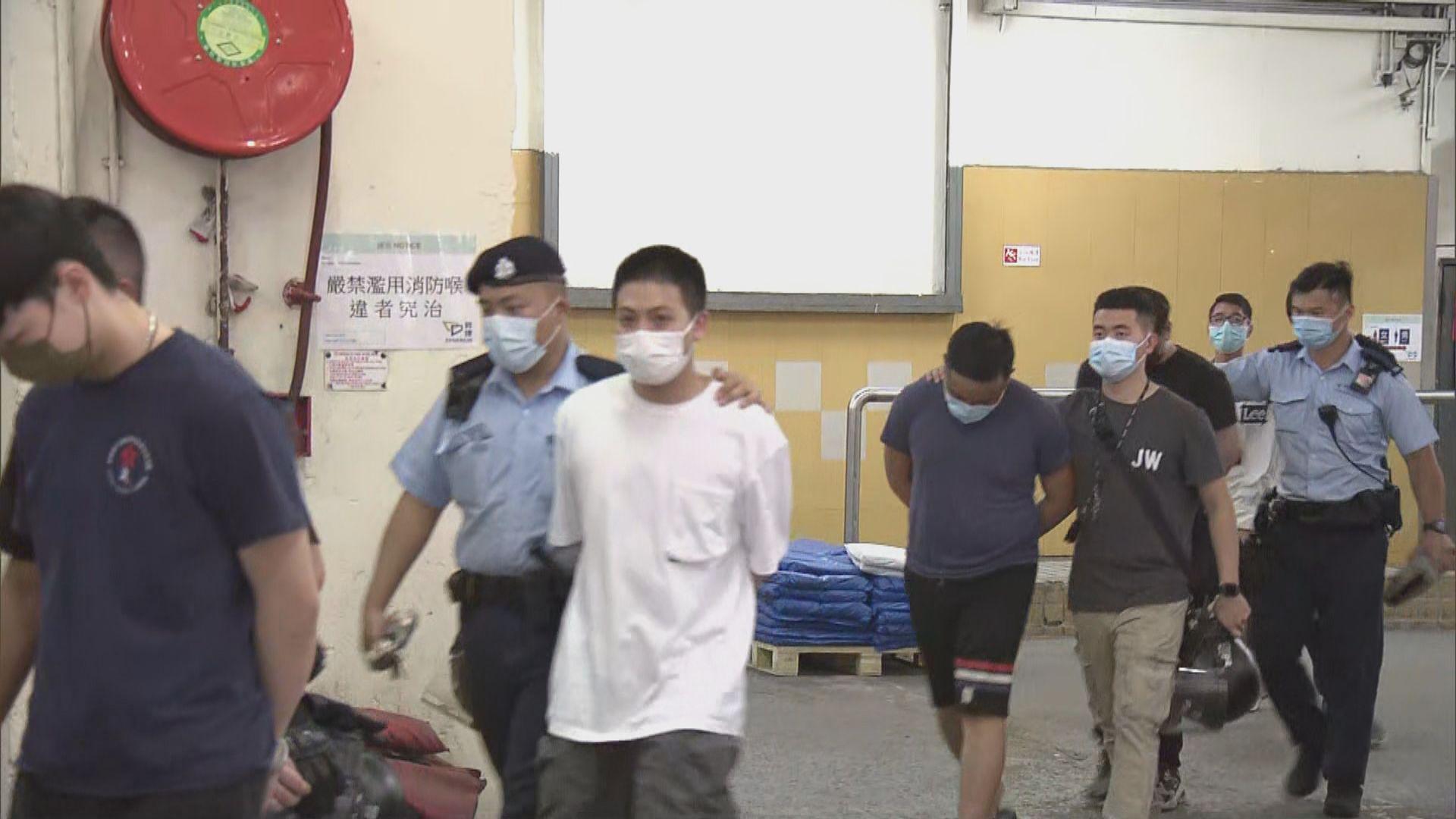 警方觀塘調查非法禁錮時揭發非法賭檔拘十人