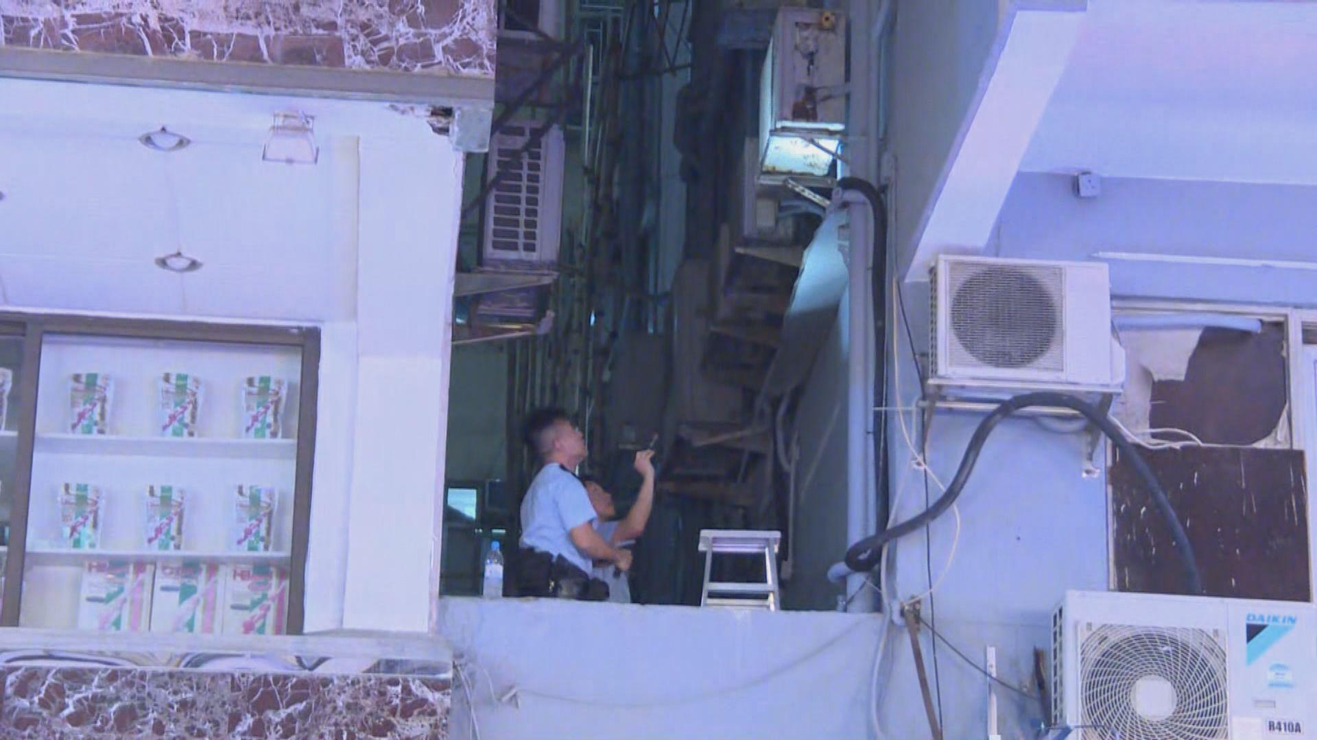 旺角男子維修冷氣機意外墮樓死亡