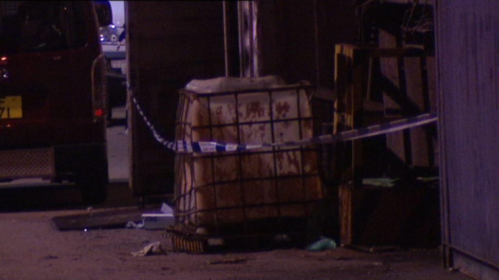 青衣九號貨櫃碼頭工業意外8傷