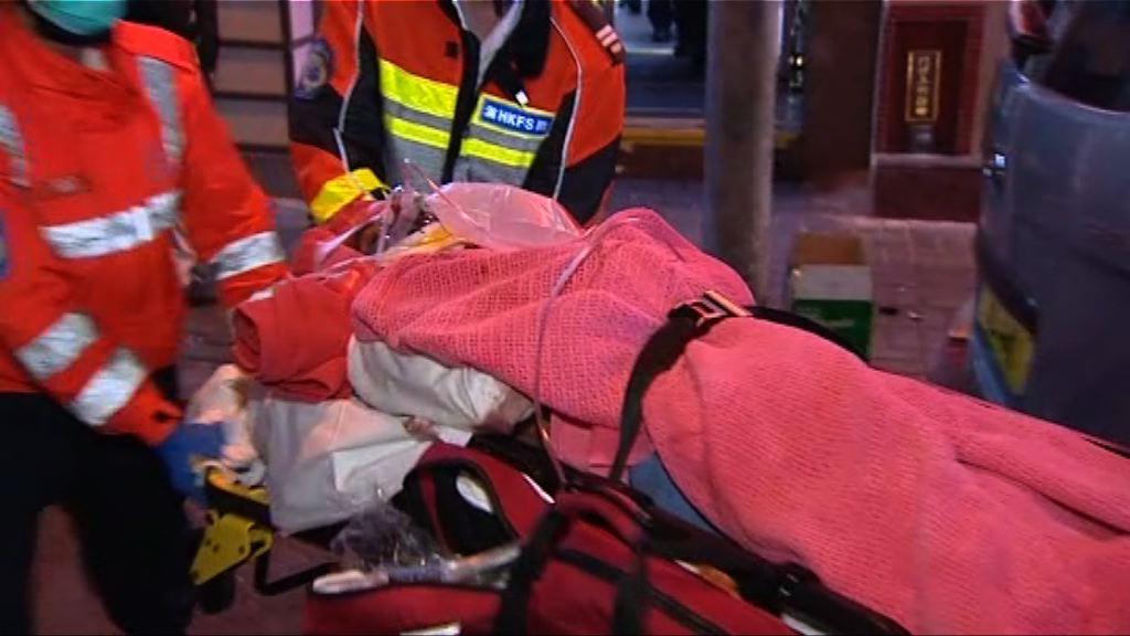 油麻地少年疑失足墮樓受傷