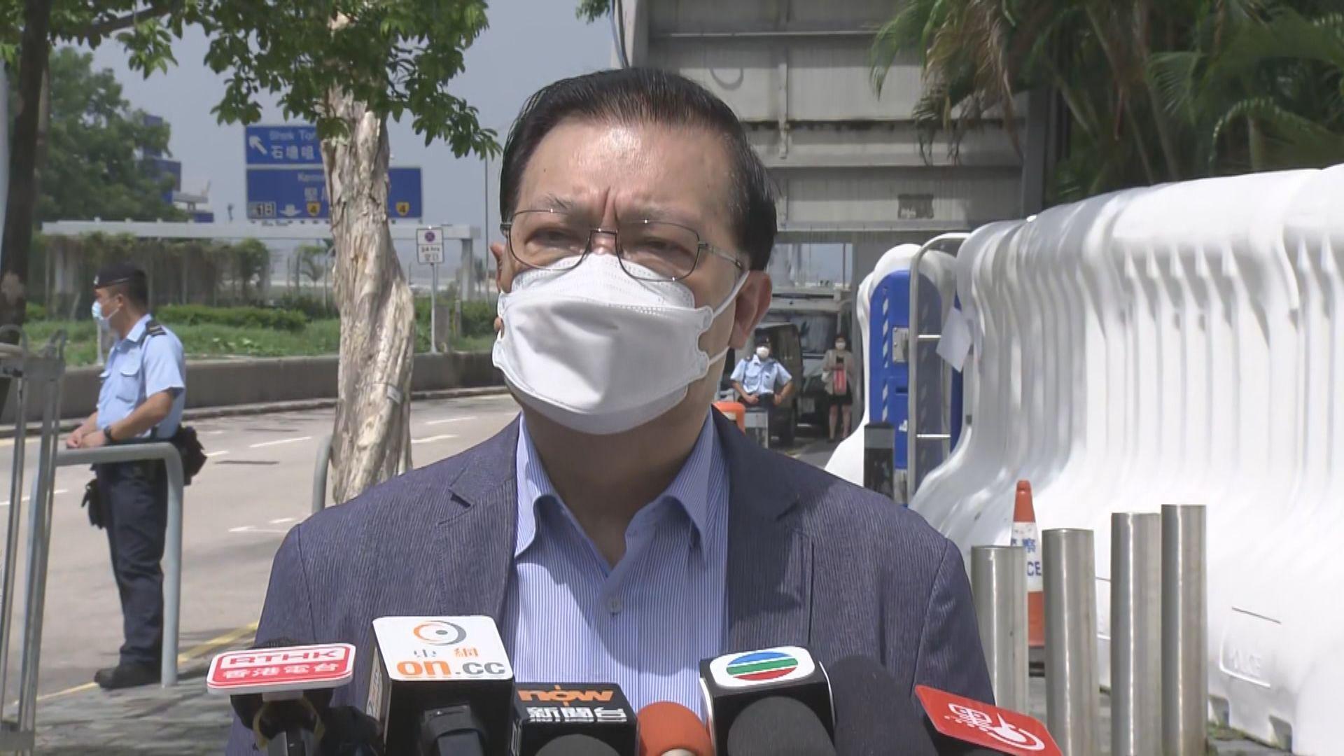 譚耀宗:偷越邊境被扣港人料由內地審訊