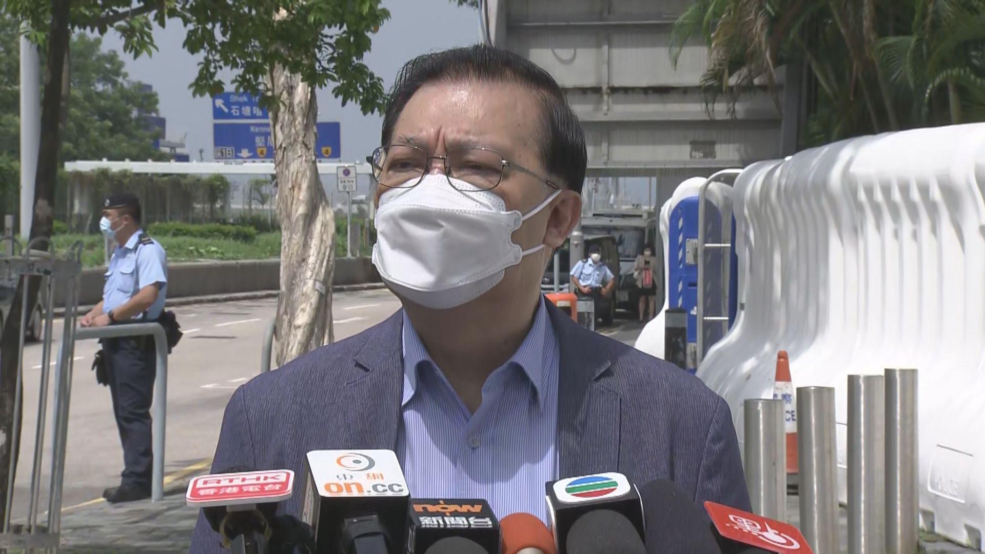 譚耀宗指華春瑩言論針對美方 被捕港人涉越境由內地審