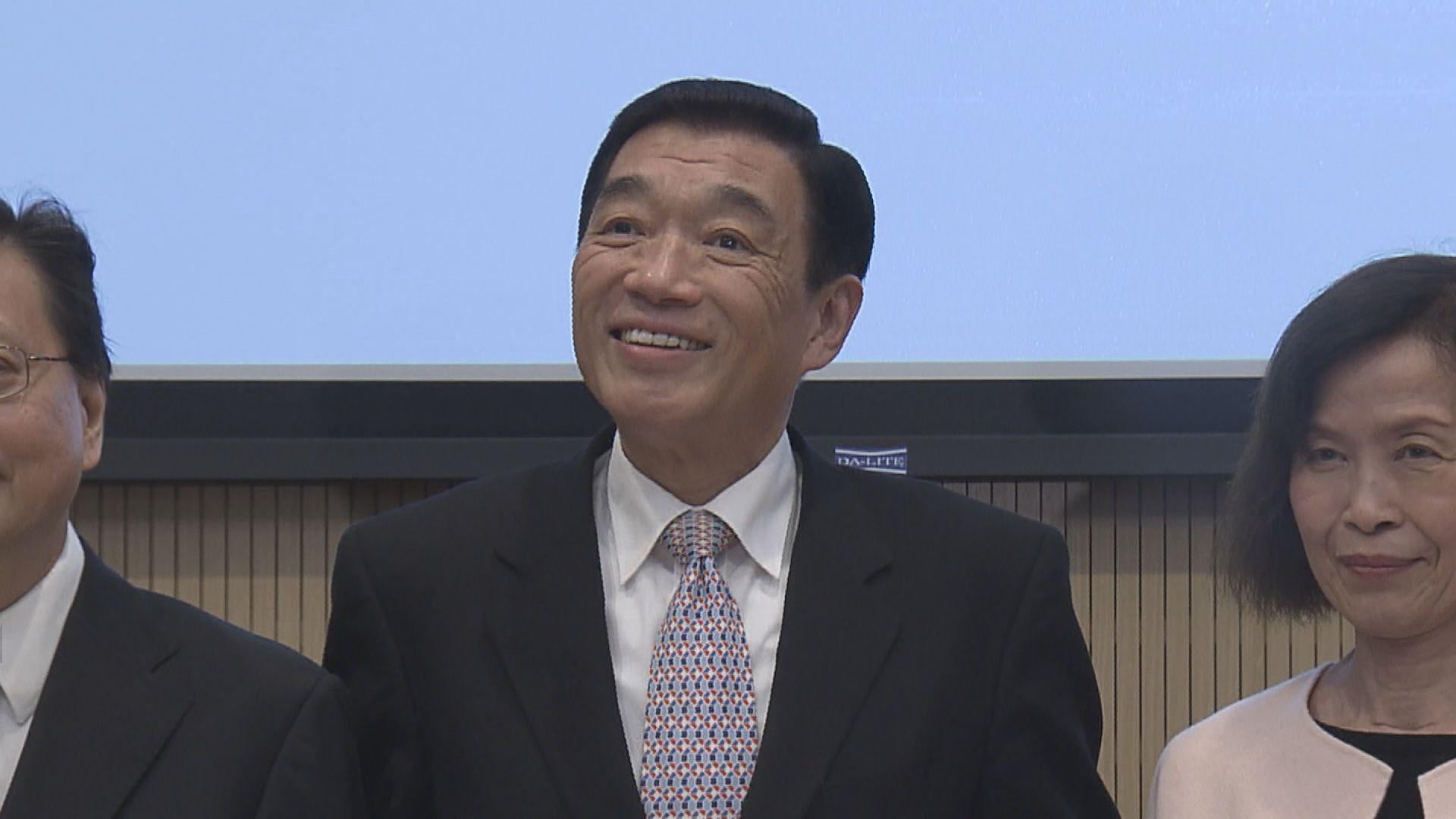 據了解范鴻齡將接任醫管局主席