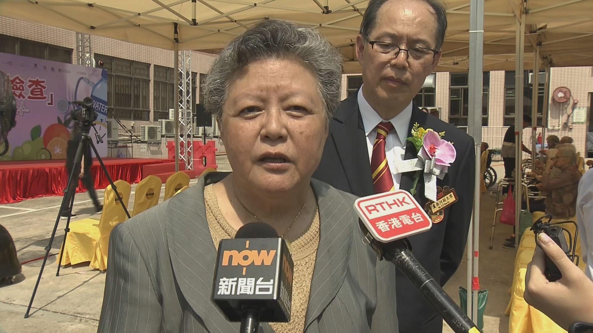 范徐麗泰:其他鼓吹港獨政黨亦應被取締