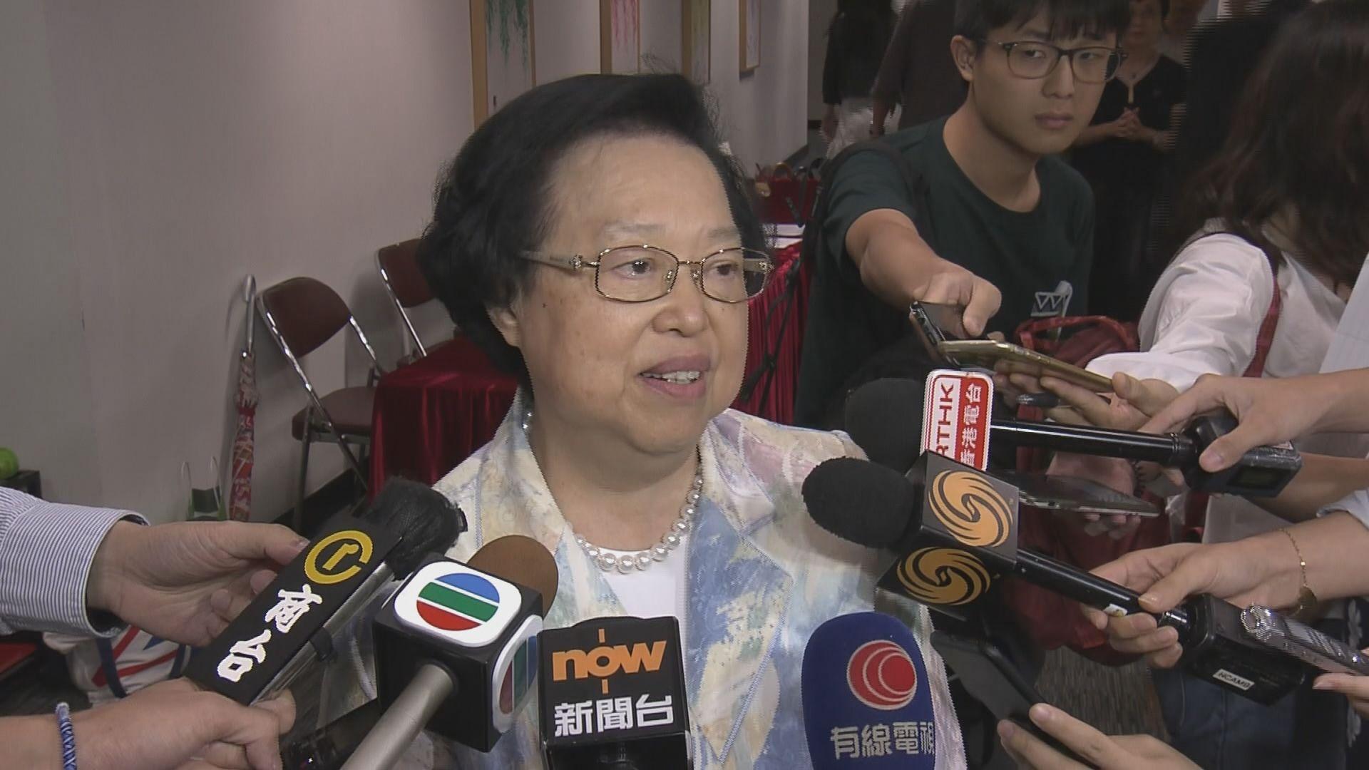 譚惠珠指港獨違憲並非選項