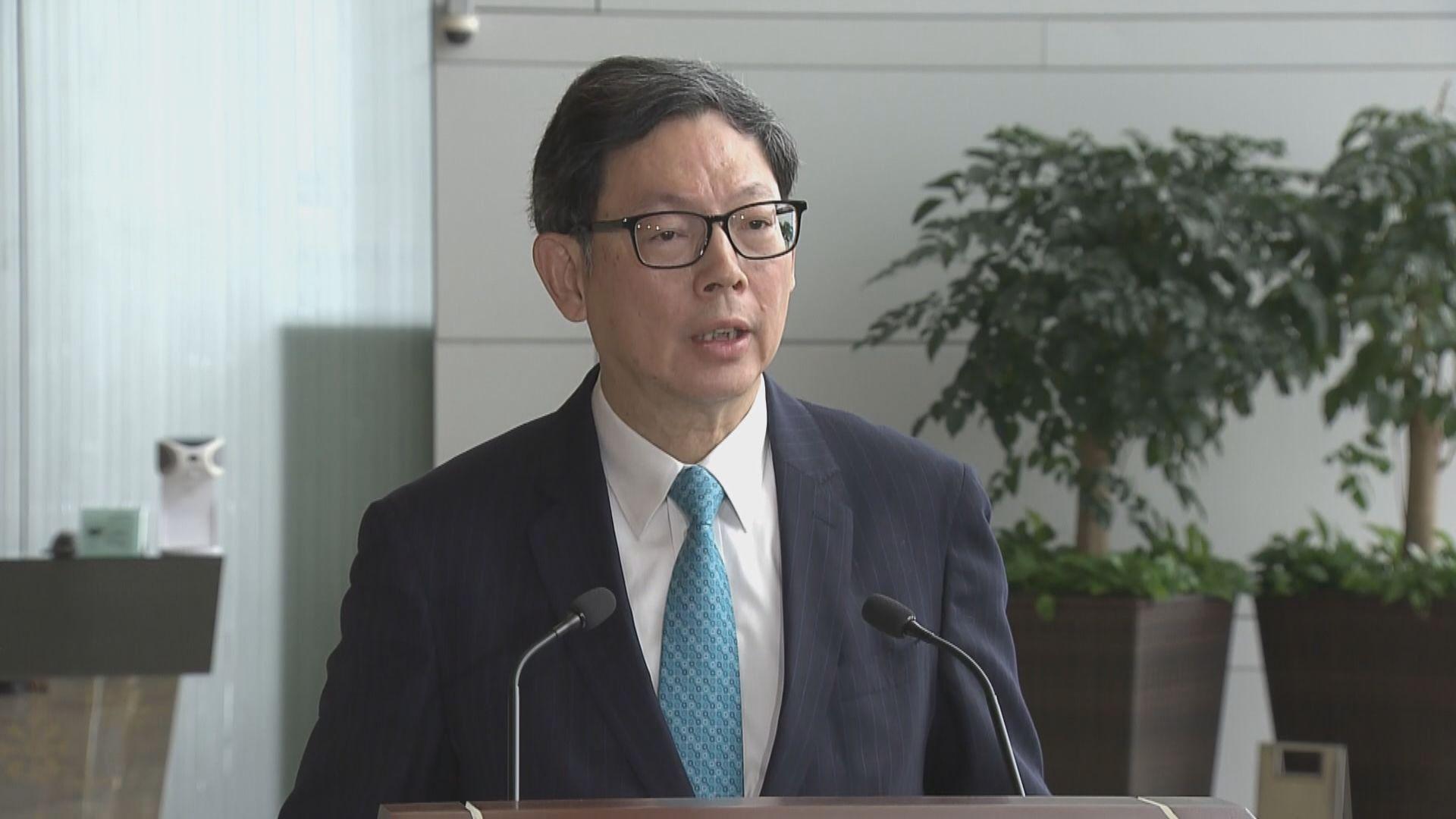 陳德霖:全球經濟金融市場仍有變數