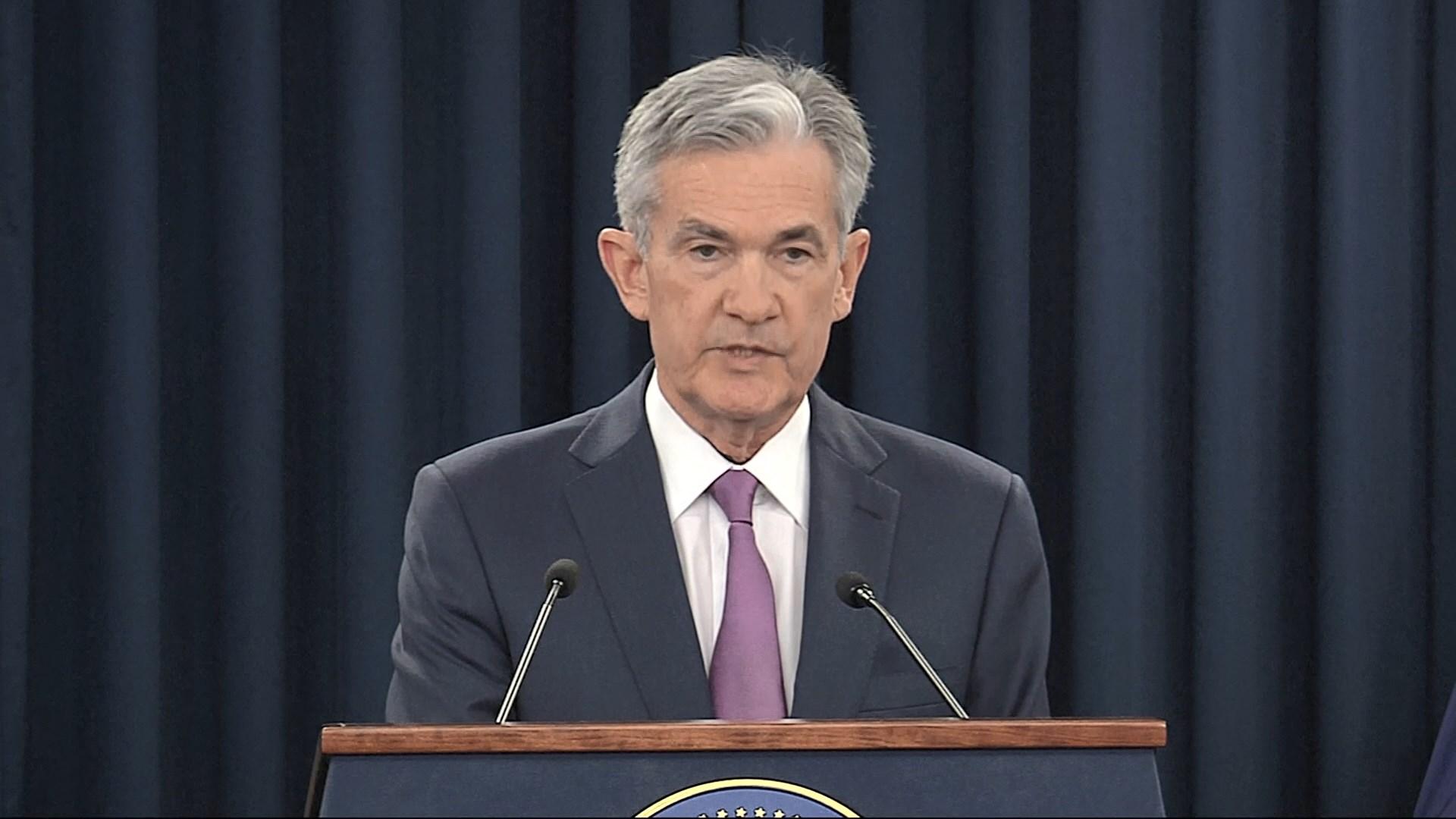 鮑威爾:美國經濟繼續增長 通脹低迷