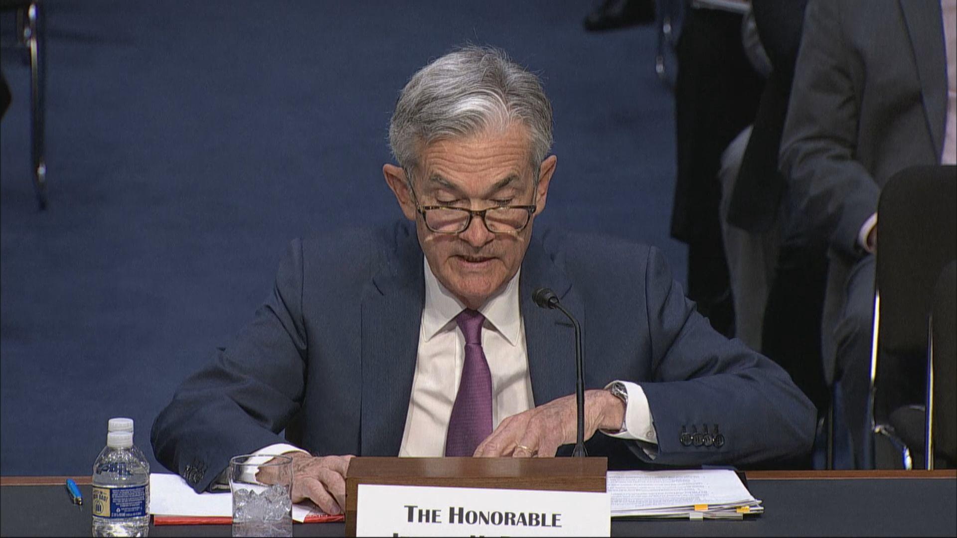 鮑威爾:美國經濟良好惟面臨貿易不確定性