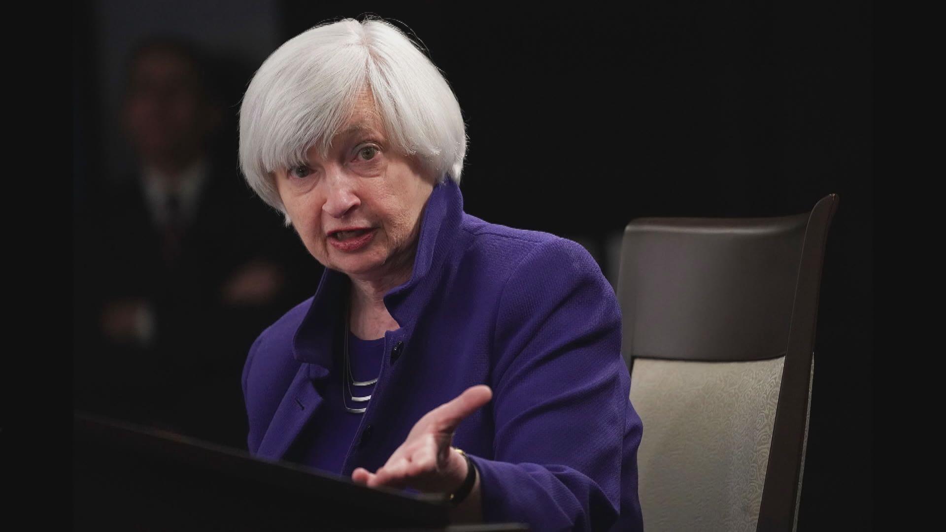 耶倫:財政政策對美國經濟支持至關重要