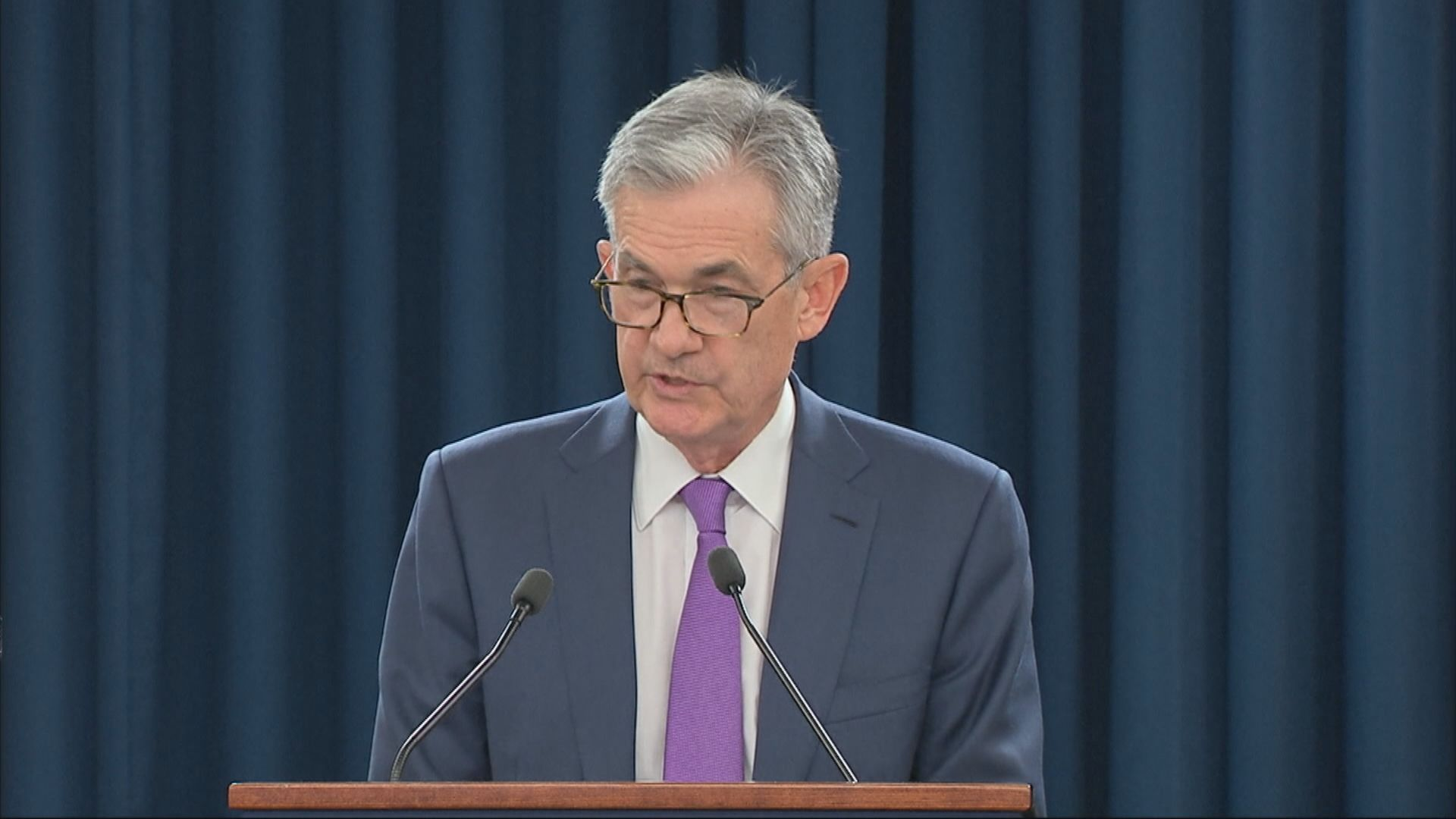 鮑威爾:美國經濟未來幾個月將面對挑戰