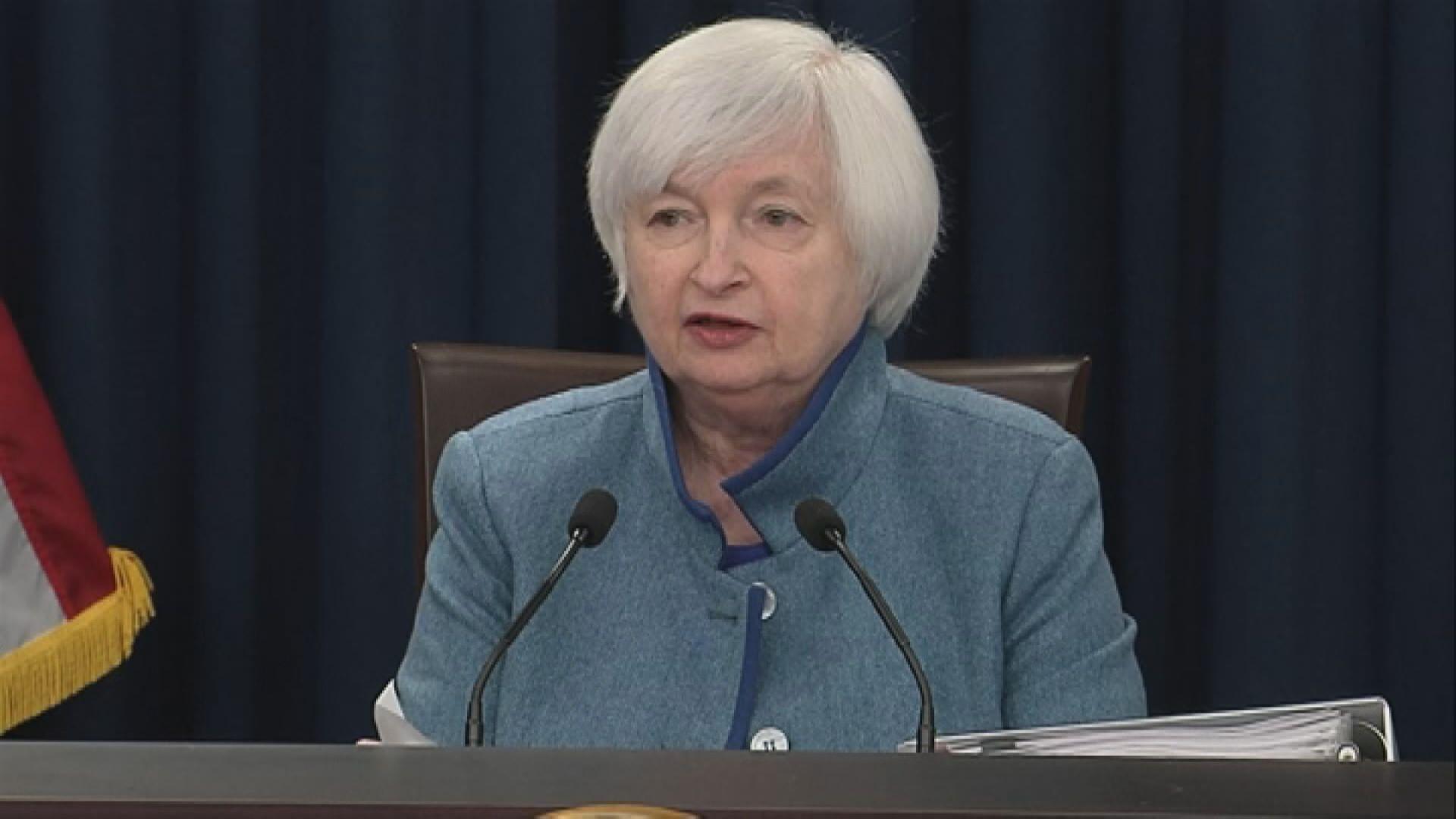 耶倫擔心美國經濟過熱 利率應加至中性水平
