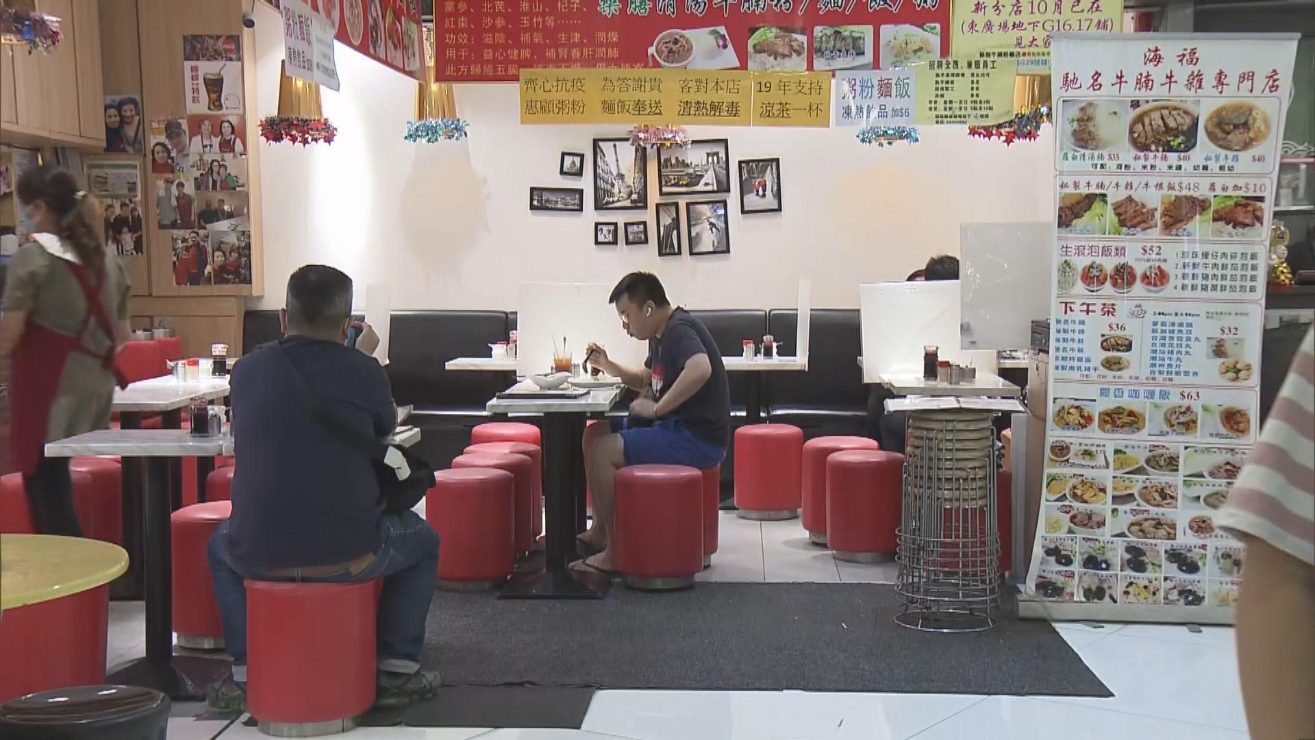 食環署將發放第二筆餐飲處所防疫資助