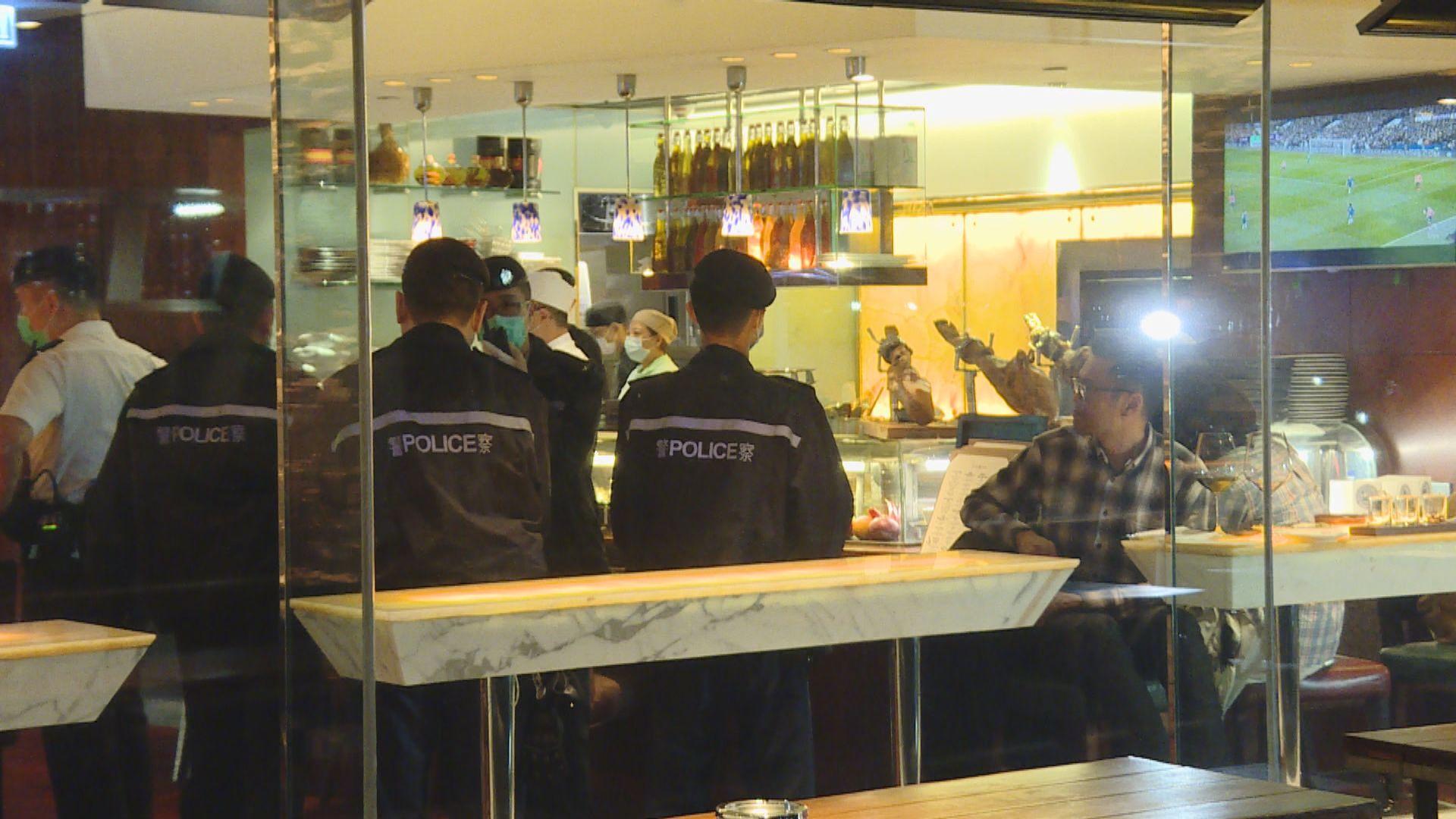 十間食肆未有遵守防疫規定 遭禁晚市堂食