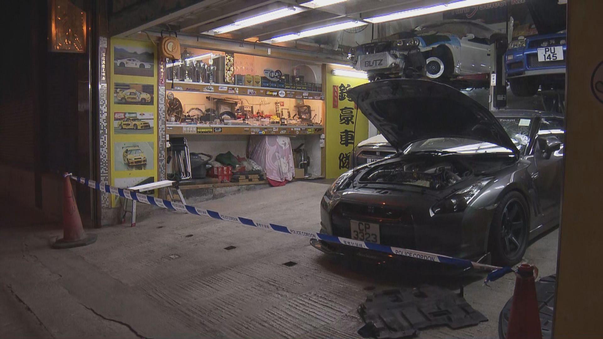 男子涉刑毀車輛被車房職員制服後死亡