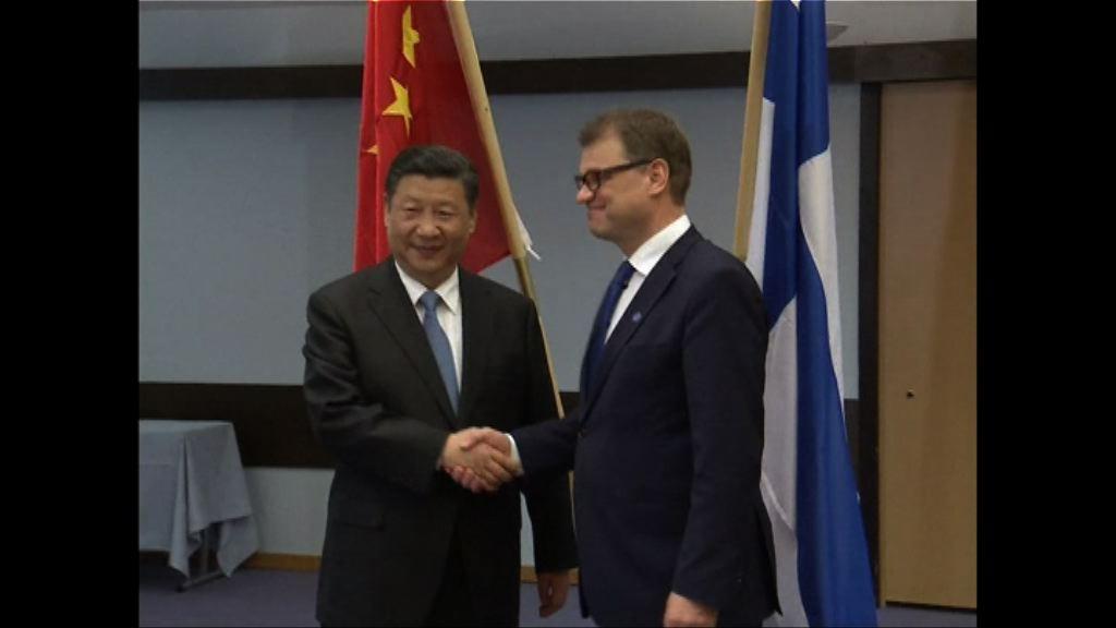 芬蘭總理冀與中方一帶一路框架下合作
