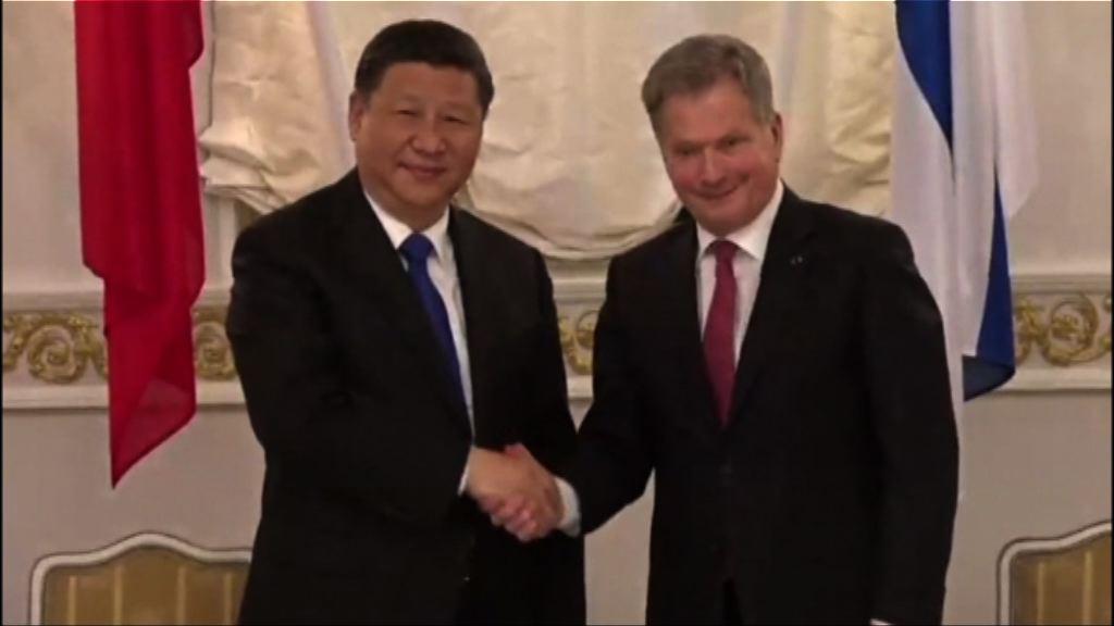 中國芬蘭願探討在一帶一路框架合作