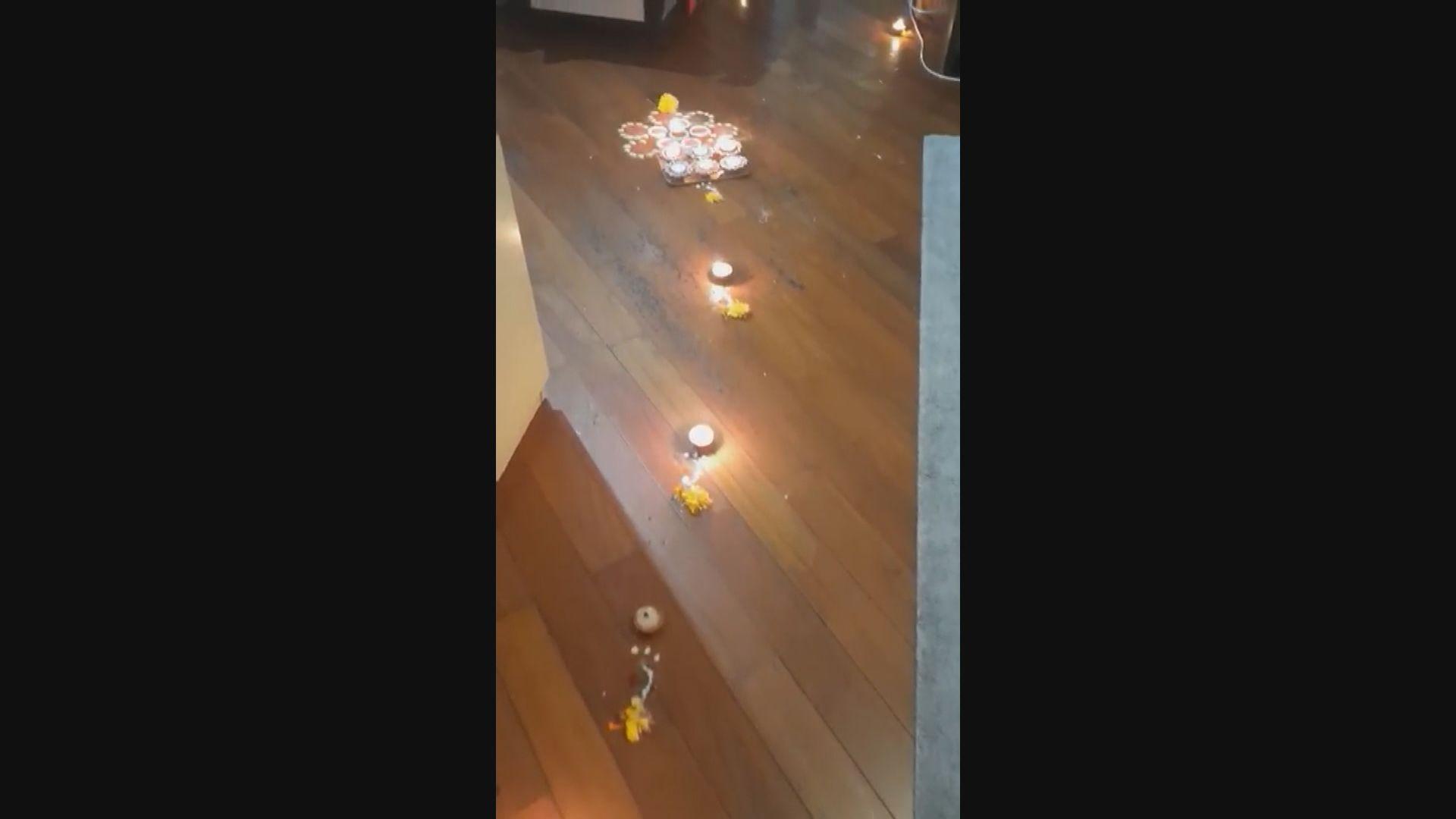 尼泊爾團體:排燈節習俗在地上點蠟燭 疑與火警有關