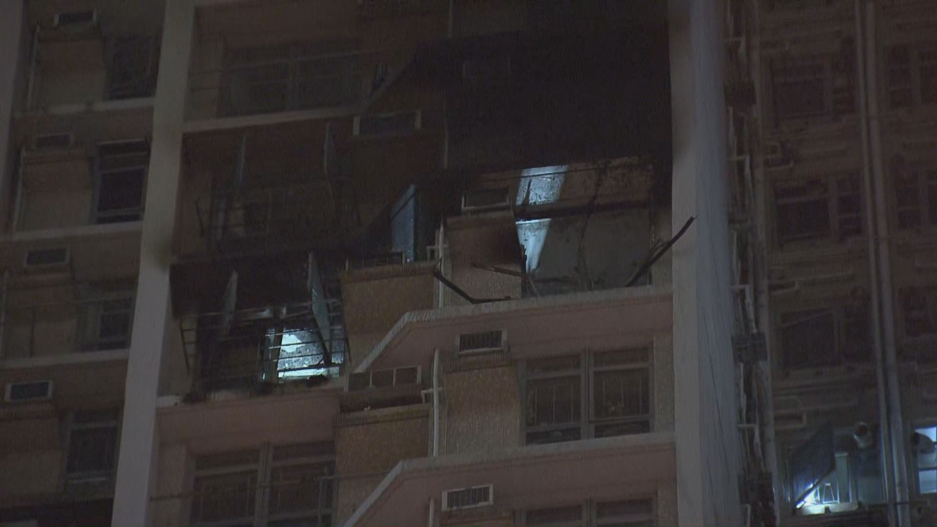 葵盛東邨單位火警疏散約三百人
