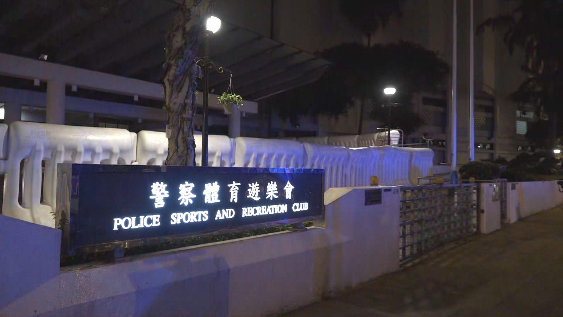 警察體育遊樂會疑遭人投擲汽油彈