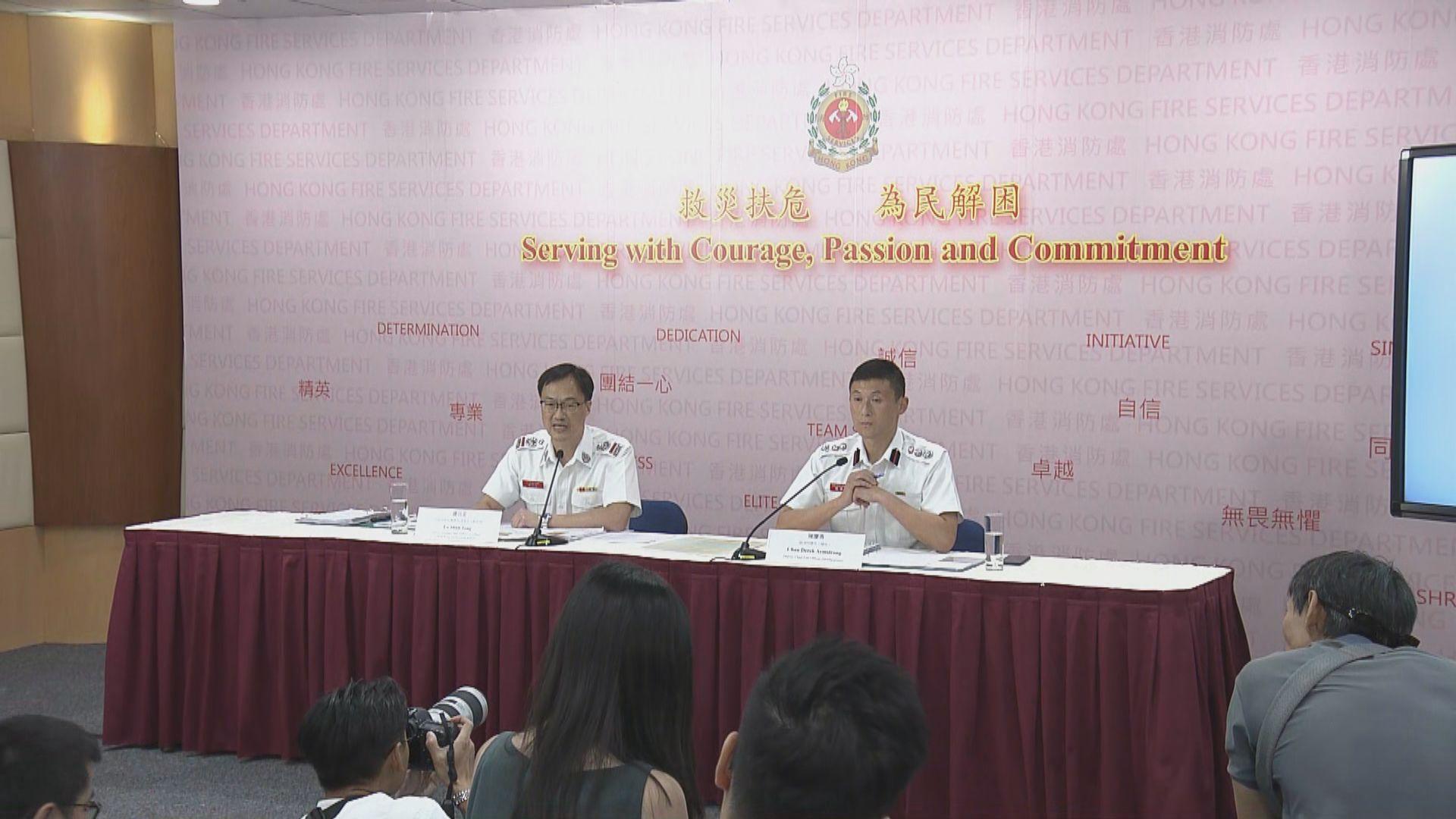 消防處:警方並無指示831太子站傷者數目