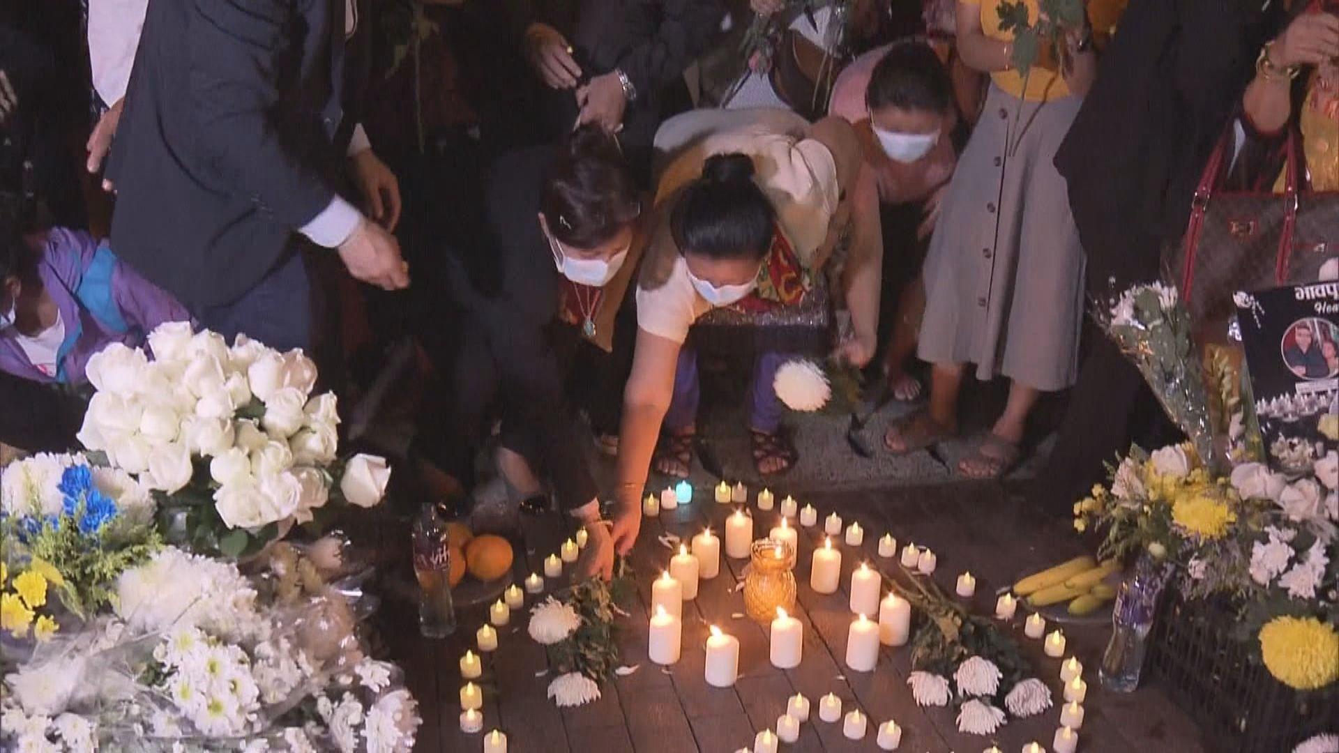 尼泊爾駐港領事館舉辦儀式 悼念唐樓大火死者