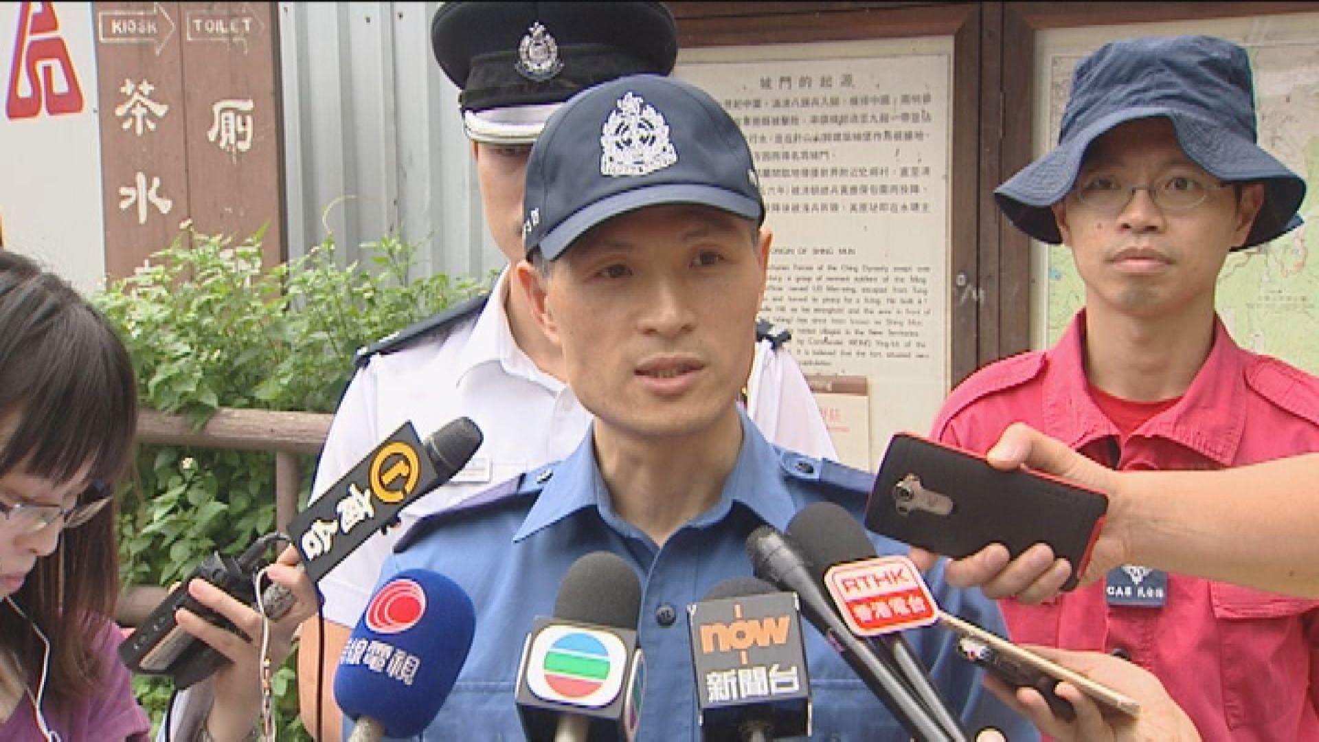 梁國柱:警員分隔雙方避免言語衝突