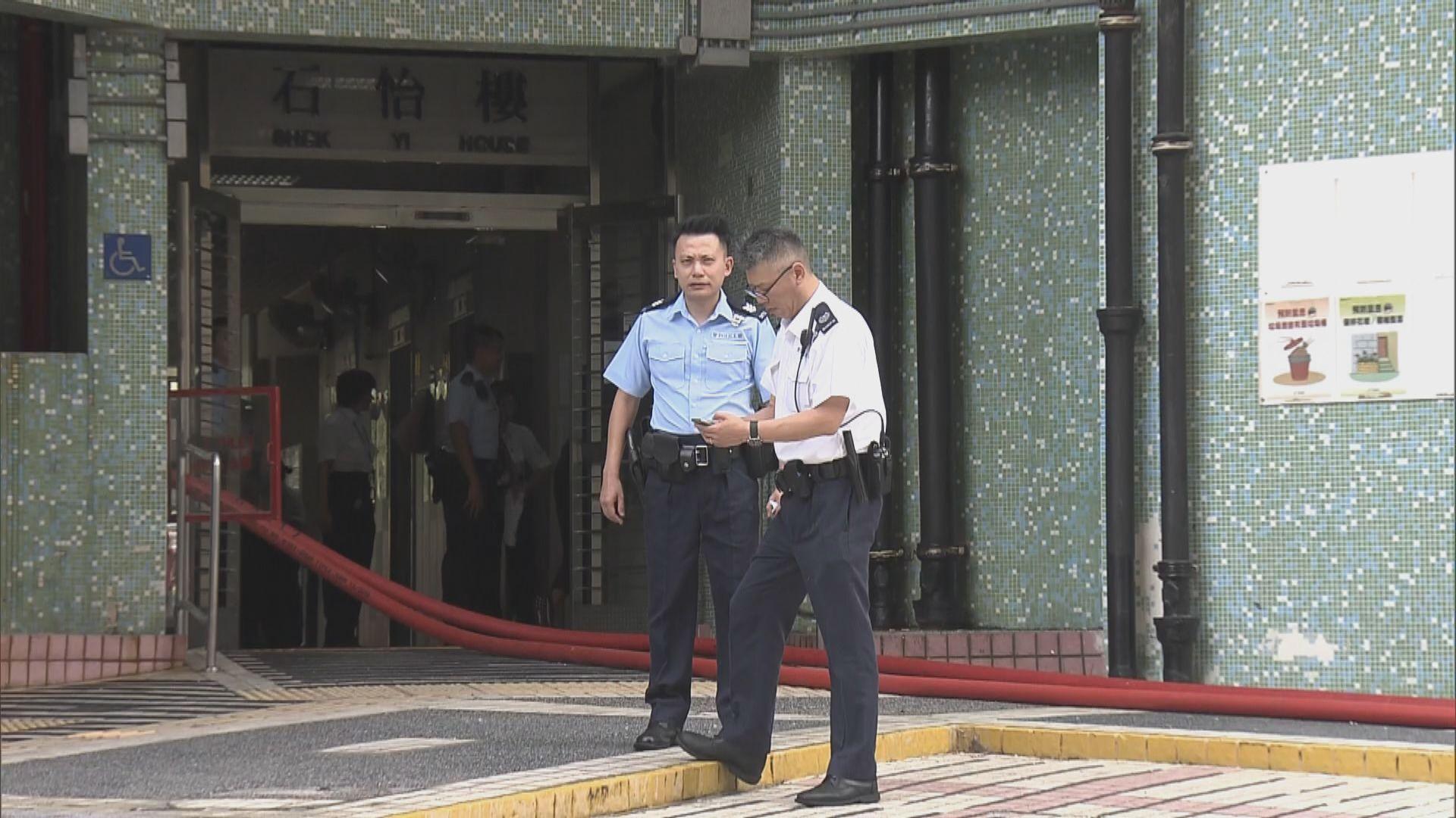 葵涌石籬邨火警單位發現燒焦男屍