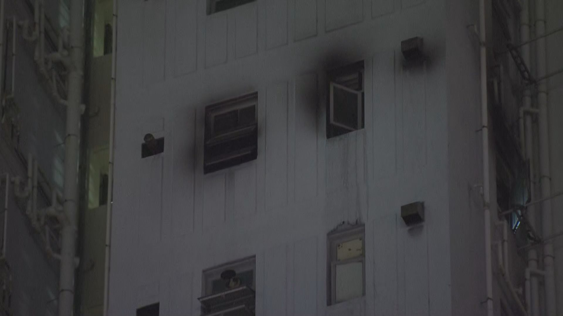 筲箕灣公屋單位起火男子死亡