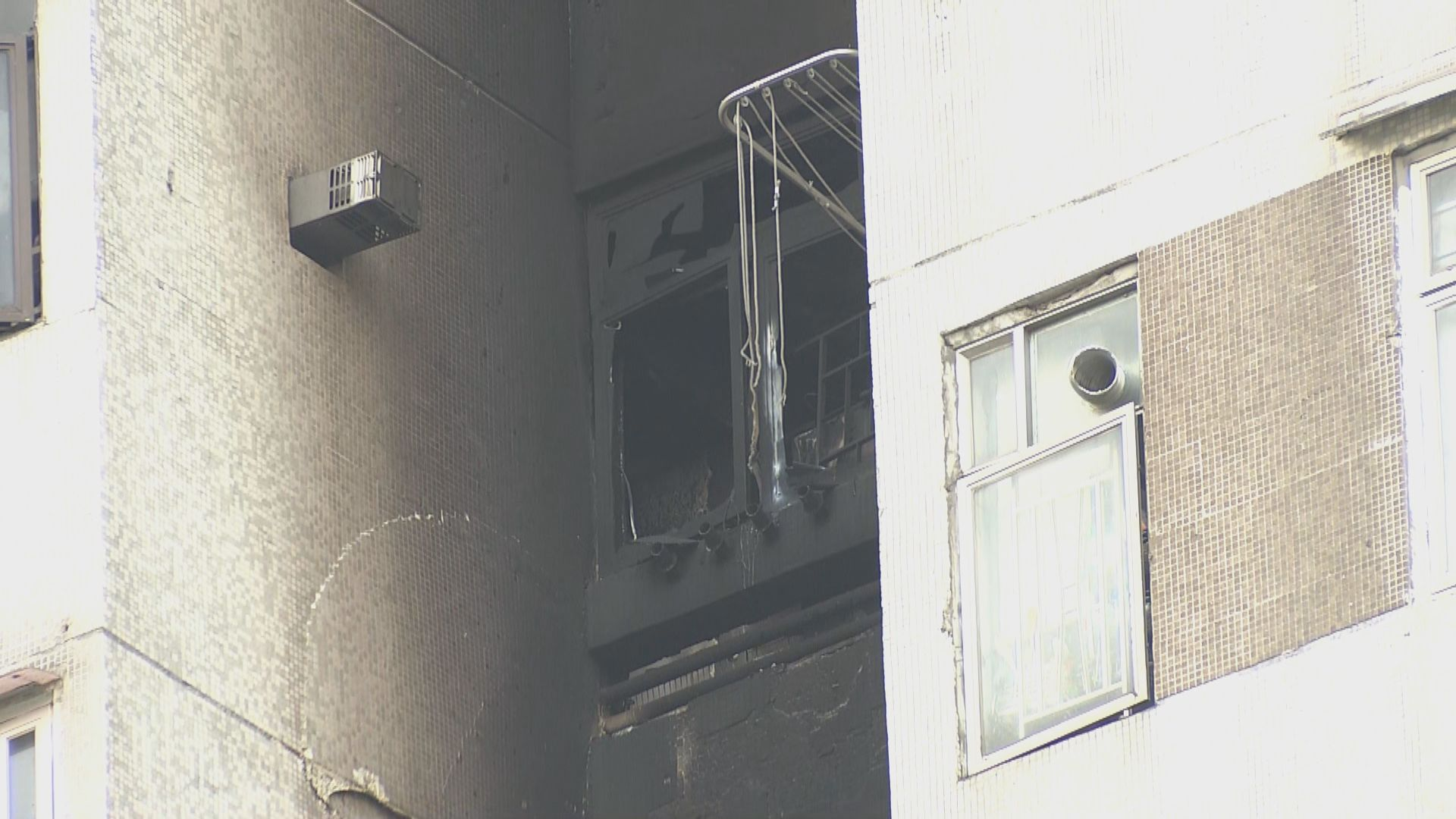 豐盛苑致命火警 消防派員調查喉轆無水原因