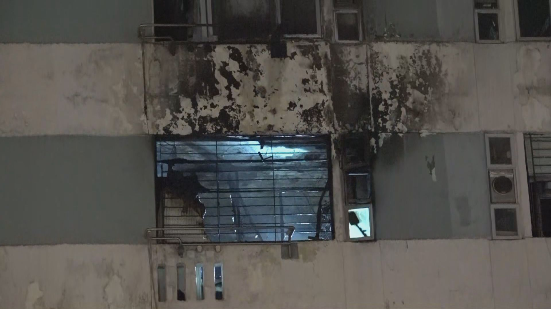 瀝源邨火警一男一狗死亡 消防指起火有可疑找到助燃劑