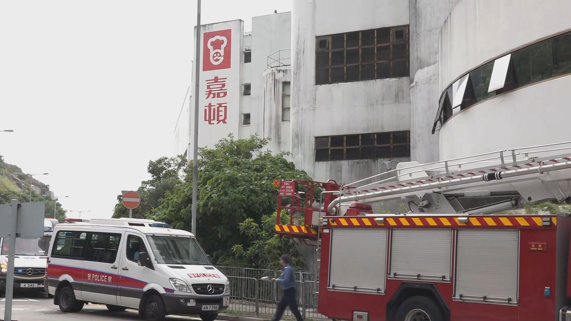 深井嘉頓麵包廠起火 消防設備運作正常