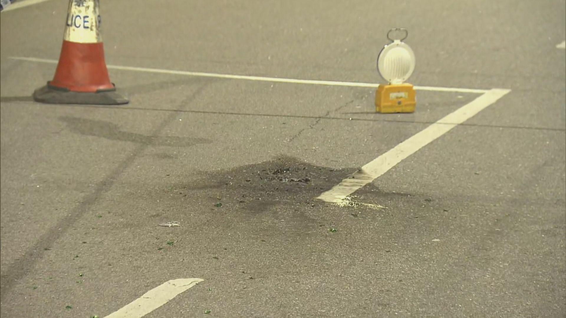 元朗消防局外被擲兩個汽油彈疑犯被捕