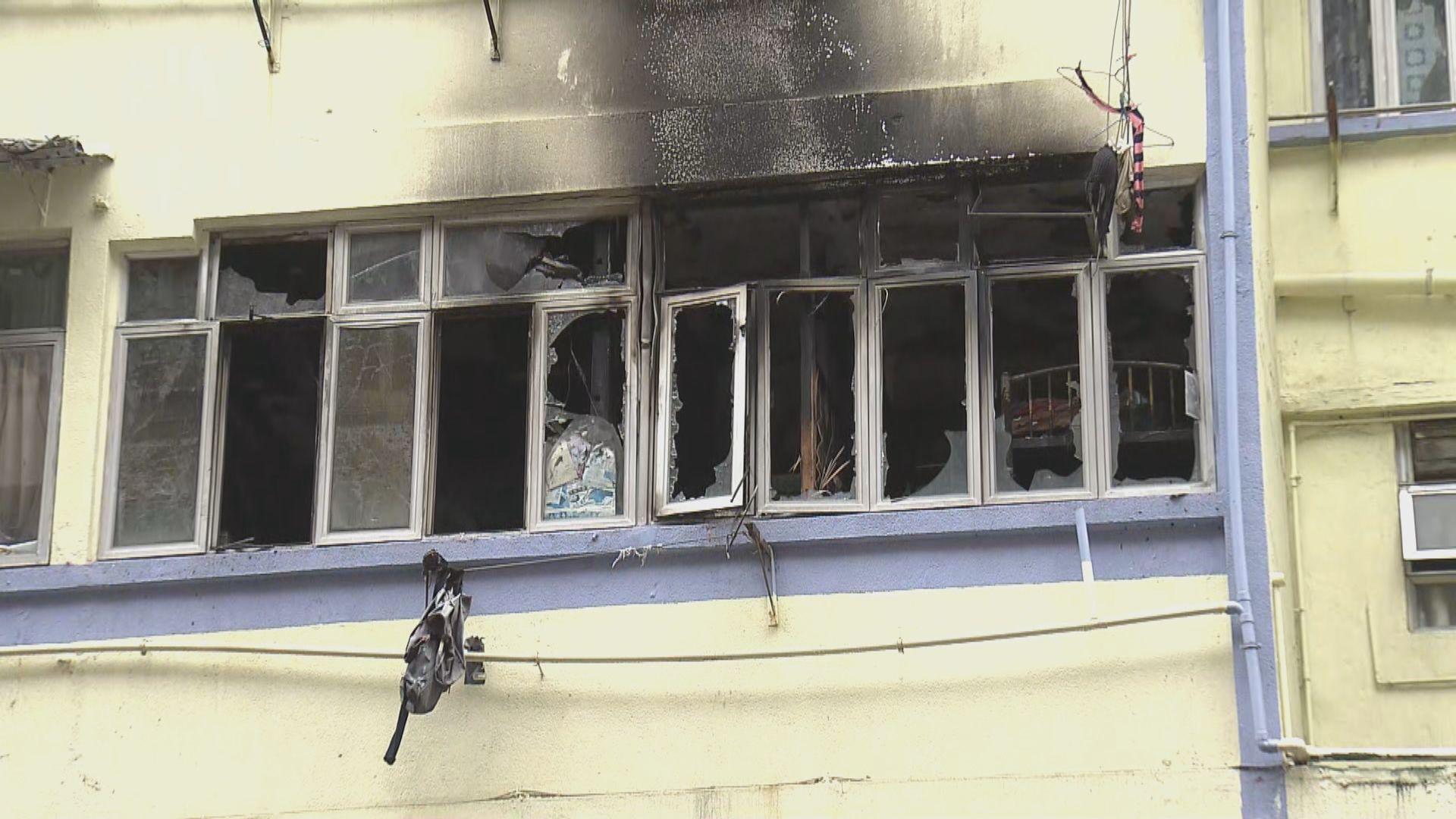 油麻地唐樓一死火警 消防指火勢蔓延快增救援難度