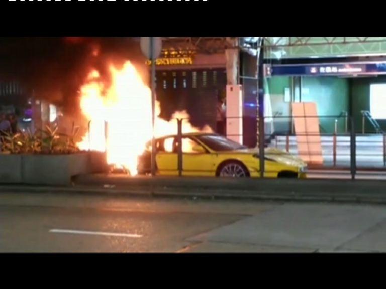法拉利跑車油麻地起火無人傷