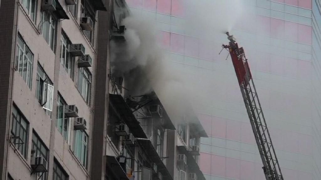 旺角聯合廣場火警1人傷