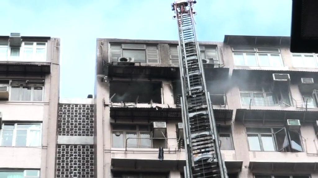 旺角聯合廣場火警 消防:電線短路