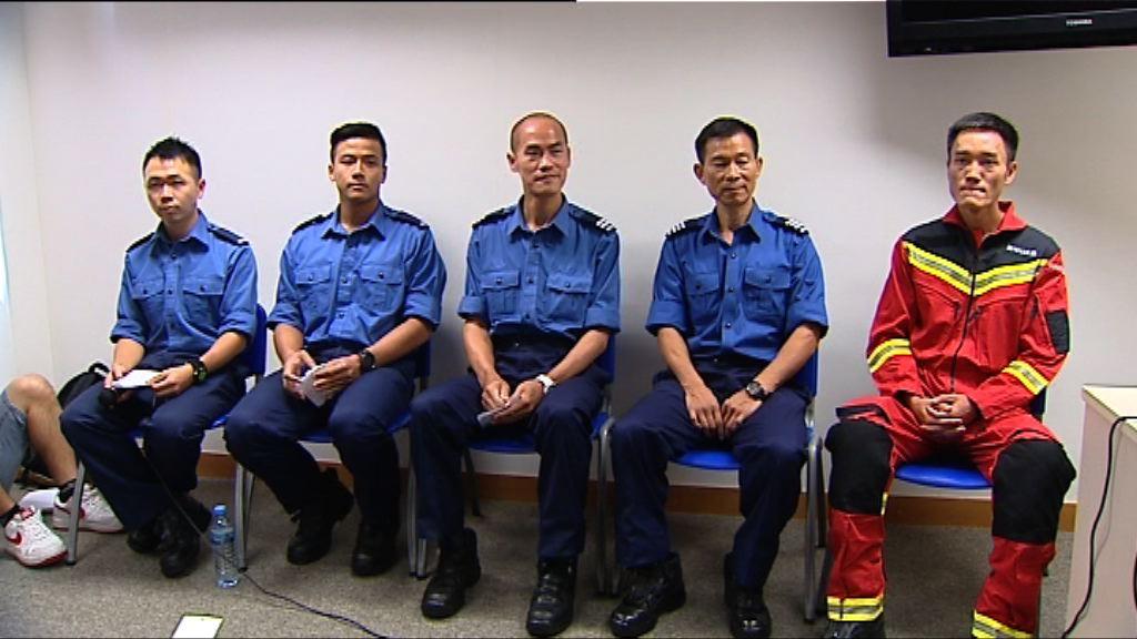 消防指拯救被困飛鵝山男女較嘉利大火危險