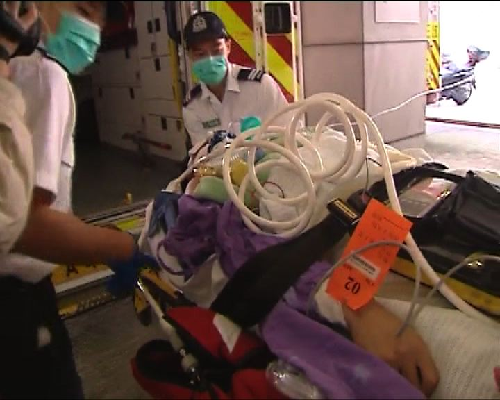 石硤尾邨氣體洩漏九名消防受傷