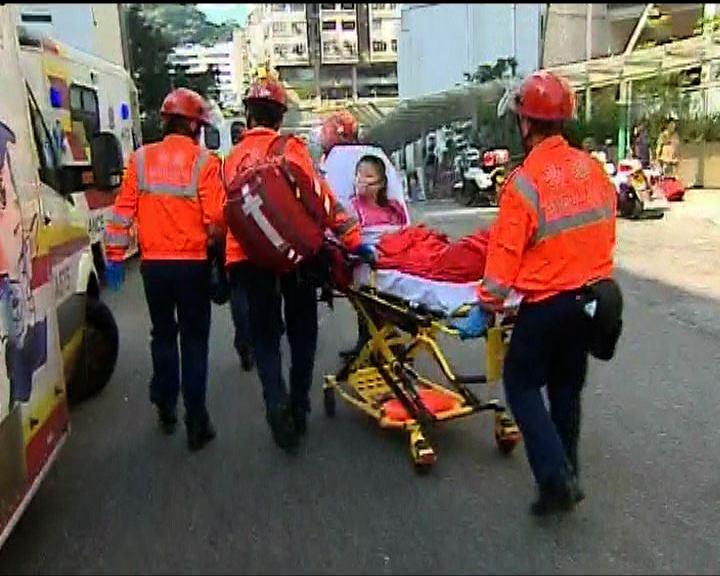 石硤尾邨疑氣體洩漏致爆炸 1死12傷