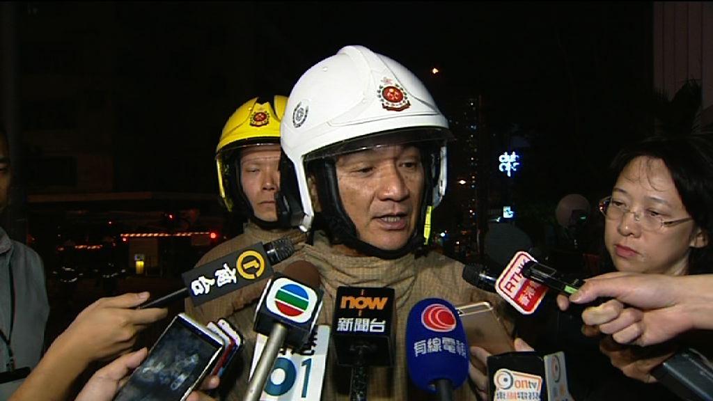 新蒲崗三級火 消防指現場易燃物致灌救困難