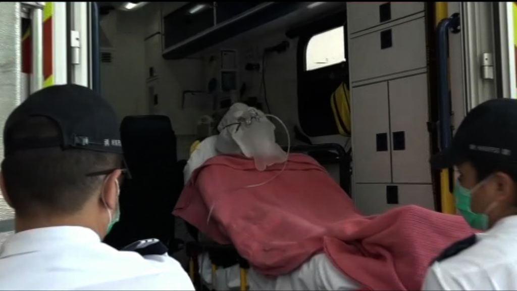 大埔天賦海灣一單位疑氣體爆炸 三人傷