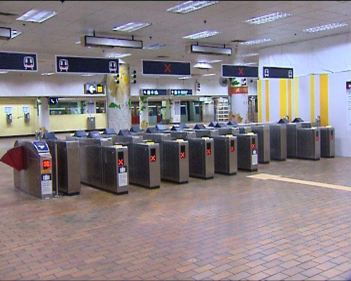東鐵太和站列車冒煙受阻八分鐘