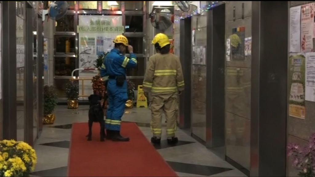 將軍澳廣明苑單位火警發現男屍