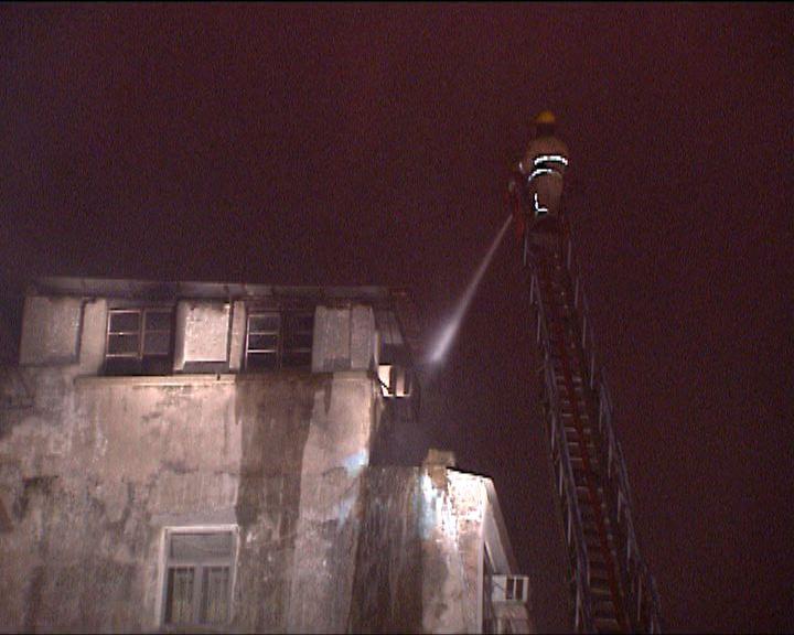 大角咀天台屋火警疏散逾百人