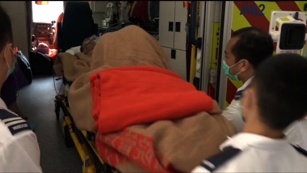 天水圍逸池樓火警12人不適送院